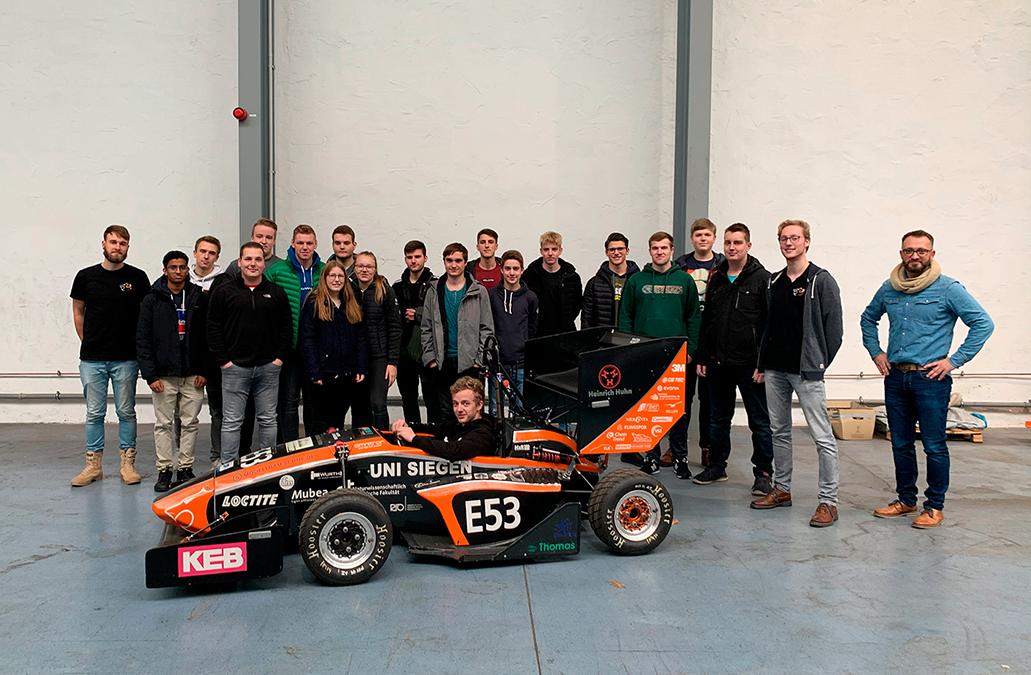 Technisches Gymnasium besucht Fakultät IV der Uni Siegen