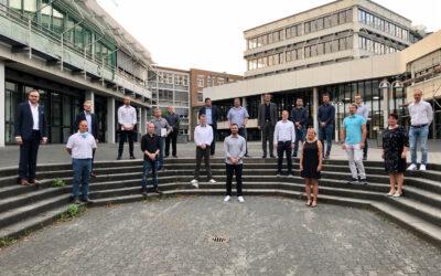 Feierliche Verabschiedung der Absolventen des Aufbaubildungsgangs Betriebswirtschaft für Staatlich geprüfte Techniker
