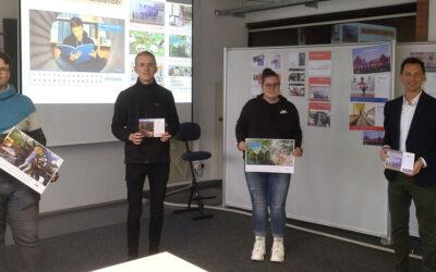Bildung sichtbar machen – Angehende Mediengestalter des Berufskollegs Technik designen Foto-Kalender